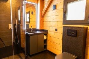Bathroom - Woodland Chalets West