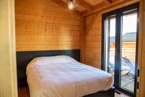 Bedroom 2 - Woodland Chalets West