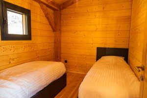 Bedroom 3 - Woodland Chalets West