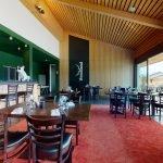 Gemütliche romantische Restaurantatmosphäre