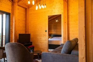 Family Holiday Accommodations - Woodland Chalets West