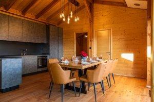 Kitchen Area - Woodland Chalets West