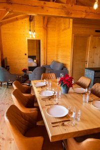 Large Family Accommodations - Woodland Chalets West