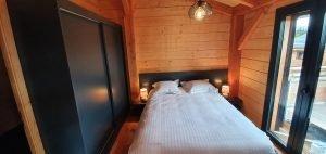 Master Bedroom Lights Woodland Village Chalets West