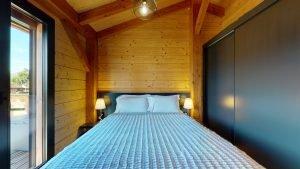 Hauptschlafzimmer mit Bergblick