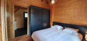 Master Bedroom Woodland Village Chalets West